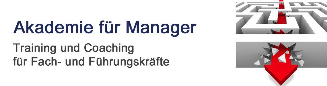 Willkommen bei der Akademie für Manager
